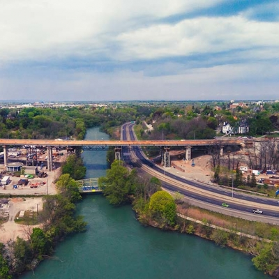 Burgoyne Bridge Reconstruction
