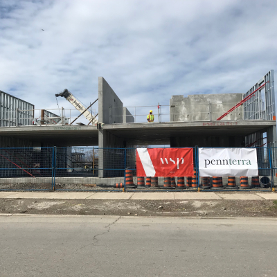 April 2019 - Construction