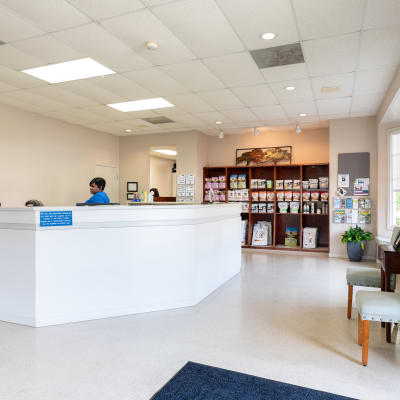 Germantown Animal Hospital Reception
