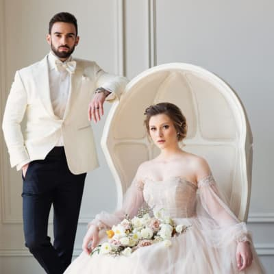 King & Bay Tuxedo Featured on Wedluxe