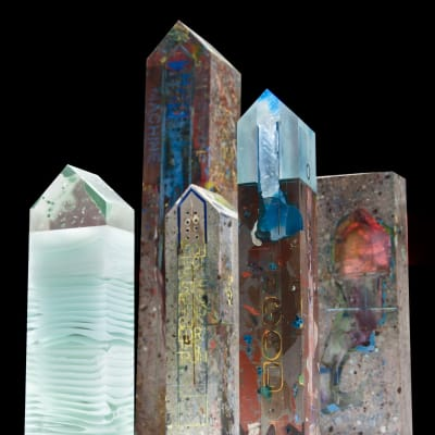 Glass & Mixed Media Art by Francis Muscat