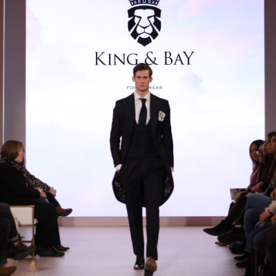 King & Bay Weddings at the 2020 Wedluxe Show