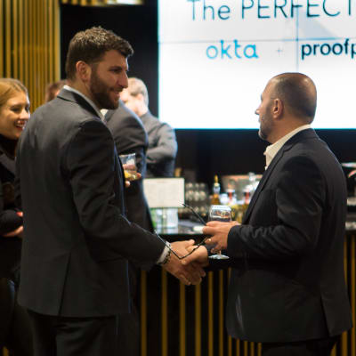 Okta & Proofpoint Host Private Event