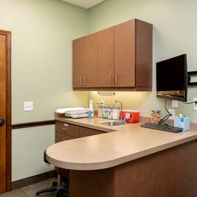 Office at Western Carolina Regional Animal Hospital in Flat Rock