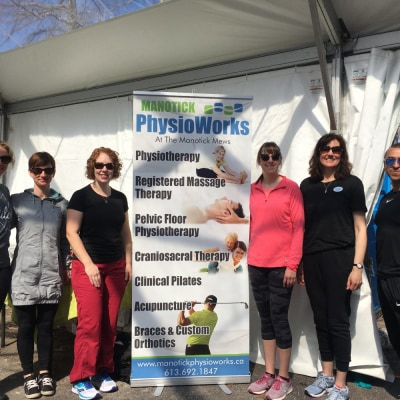 Manotick PhysioWorks in the Community